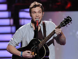 American Idol Season 11 - The Top 8 Perform - Phillip Phillips