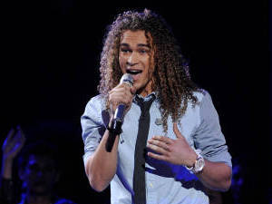 American Idol Season 11 - The Top 8 Perform - DeAndre Brackensick