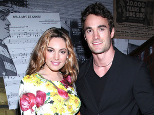 Kelly Brook and Thom Evans 'From Scotland With Love' held at the Liberty Theater - Arrivals New York City