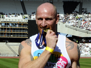 Olympic Stadium Gold Challenge - Gareth Thomas
