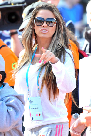 Gold Challenge Olympic Stadium Event: Katie Price