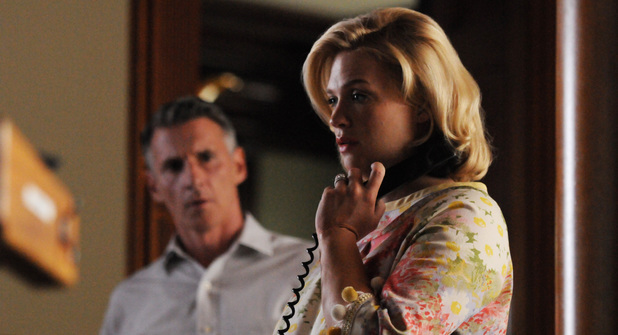 January Jones as Betty Francis in Mad Men S05E02 Tea Leaves