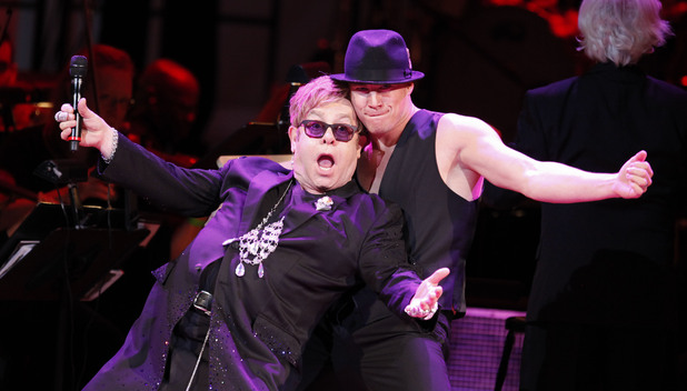Elton John, Channing Tatum