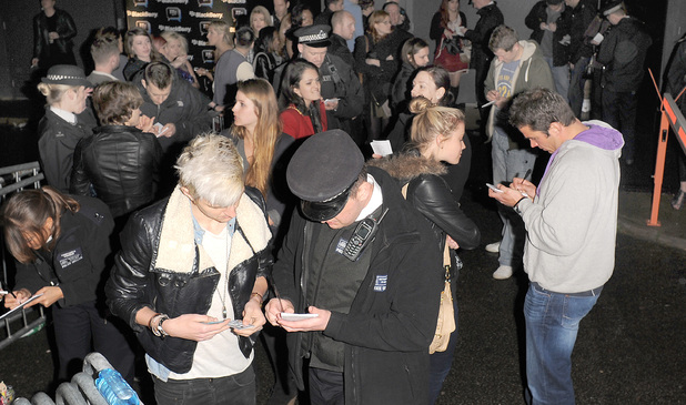 Celebrities attended the Blackberry BBM party in South London venue Bankside Vaults on Tuesday evening, but the night ended with a shocking stabbing inside. Witnesses told photographers that two men became involved in an argument, before one of them plunged a broken bottle into the other man's neck, causing life-threatening injuries. Jessie J was reportedly coming off stage at the time of the incident