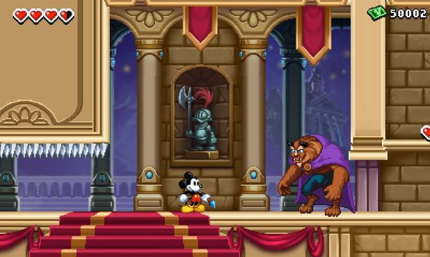Epic Mickey 3DS Screenshots