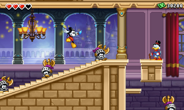 'Epic Mickey' 3DS screenshot