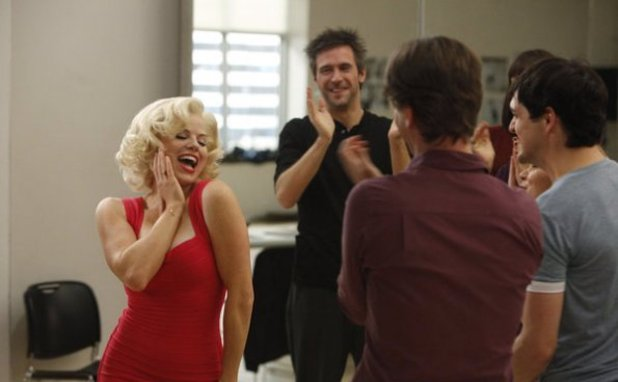 Megan Hilty as Ivy Lynn, Jack Davenport as Derek Wills