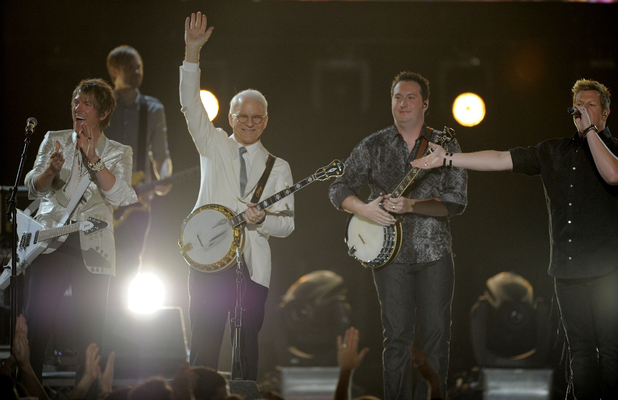 ACM Awards 2012: Steve Martin and Rascal Flatts