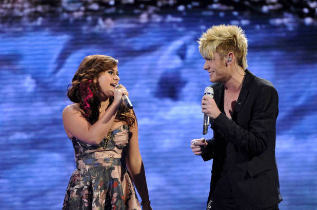 American Idol Season 11 - The Top 8 Perform - Skylar Laine and Colton Dixon