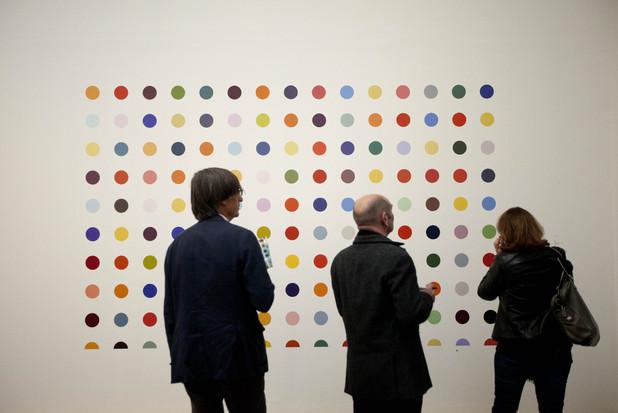 Damien Hirst Tate Modern Exhibition gallery