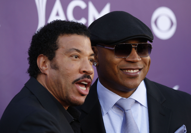 Lionel Richie, left, and LL Cool J