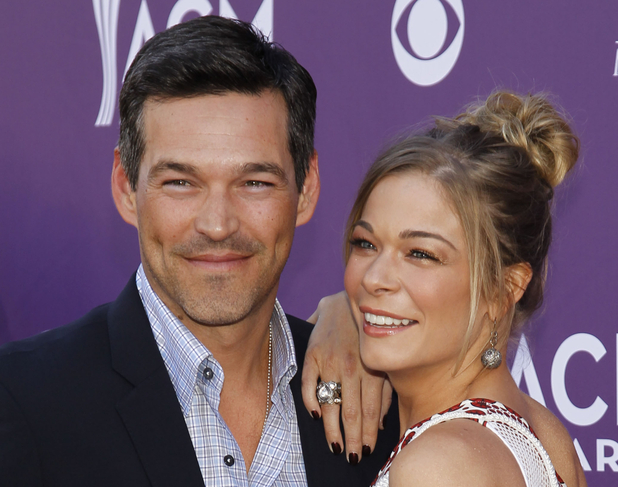 ACM Awards 2012: LeAnn Rimes, right, and Eddie Cibrian