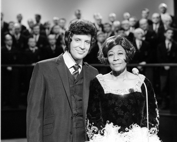 Tom Jones and Ella Fitzgerald