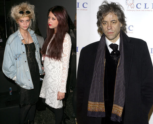 Pixie, Peaches and Bob Geldof