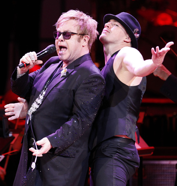 Elton John, Channing Tatum