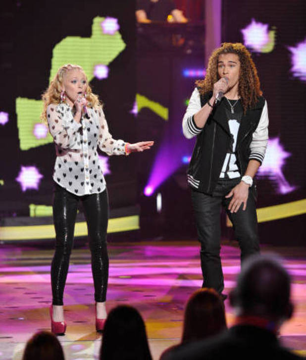 Hollie Cavanagh and DeAndre Brackensick