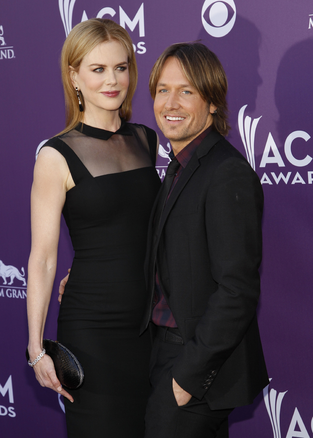 Nicole Kidman, left, and Keith Urban
