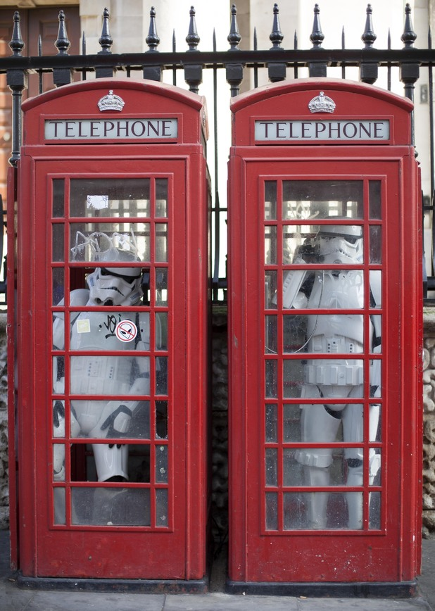 Using a phonebox