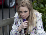 Roxy is anxious when Derek answers Alfie's phone.