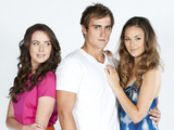 Ashleigh Brewer (Kate) Christoper Milligan (Kyle) and Gemma Pranita (Jade)