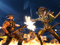 Aliens: Colonial Marines images showcase the game's brooding environments.