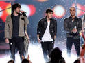 The Wanted cover Goo Goo Dolls song 'Iris' for Slacker Radio in California.