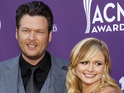 Miranda Lambert says that she sees a different side to her husband on The Voice.
