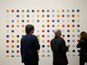 Move through our gallery of highlights from Damien Hirst's career-spanning show.