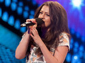 "The 18-year-old says she always wanted to sing for ""main man"" Simon Cowell."