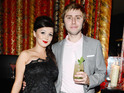 Inbetweeners star James Buckley proposes to the mother of his child Clair Meek.