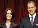 Madame Tussauds debuts new waxworks of the royal couple.
