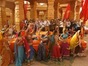 Bollywood stock image