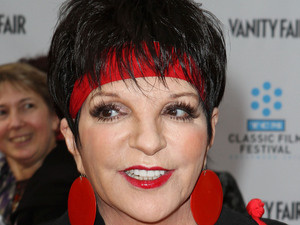 Liza Minnelli, at the TCM Classic Film Festival opening night premiere of the 40th anniversary restoration of 'Cabaret' at Grauman's Chinese Theatre Hollywood, California