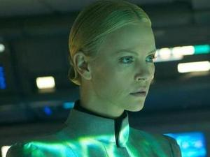 Charlize Theron in 'Prometheus' still