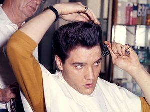 Elvis Presley, hair
