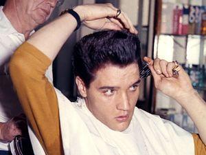 Elvis Presley, hair
