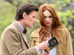 Matt Smith, Karen Gillan, Doctor Who