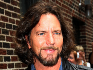 Eddie Vedder 'The Late Show with David Letterman' at the Ed Sullivan Theater - Arrivals New York City