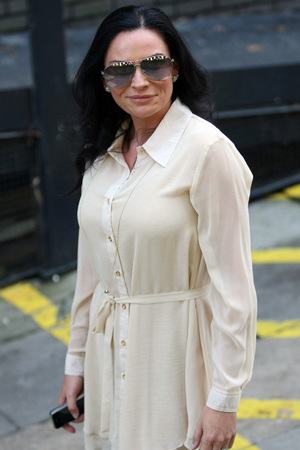 Lucy Pargeter at the ITV studios