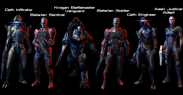 'Mass Effect 3' Resurgence Pack Characters