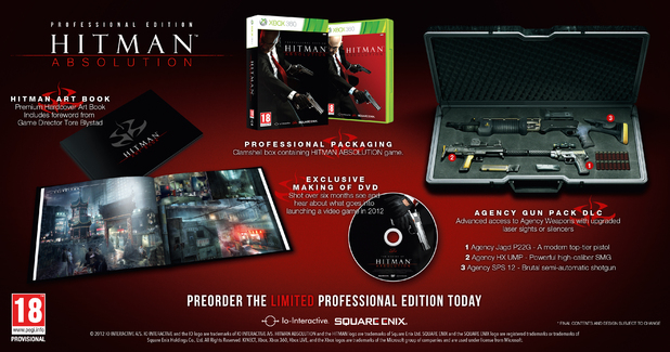Hitman Absolution Pro edition