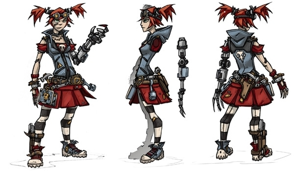 &#39;Borderlands 2&#39; Mechromancer class 