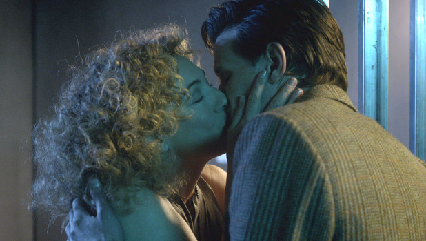 River Song kisses The Doctor