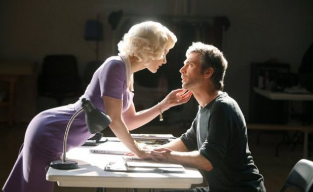 Katharine McPhee as Karen Cartwright, Jack Davenport as Derek Wills