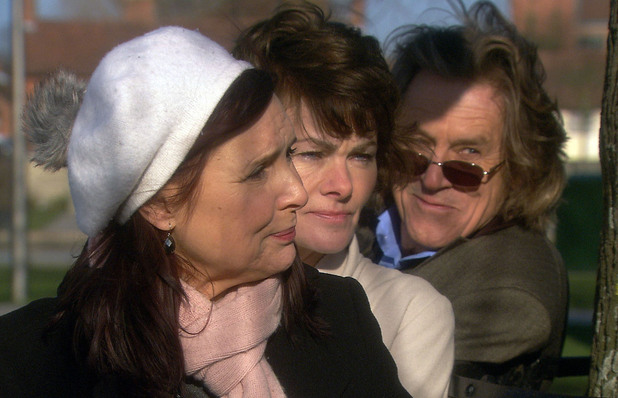 Julia (Diane Keen), Elaine (Janet Dibley) and Martin (Miles Anderson) end up in a bit of a pickle.