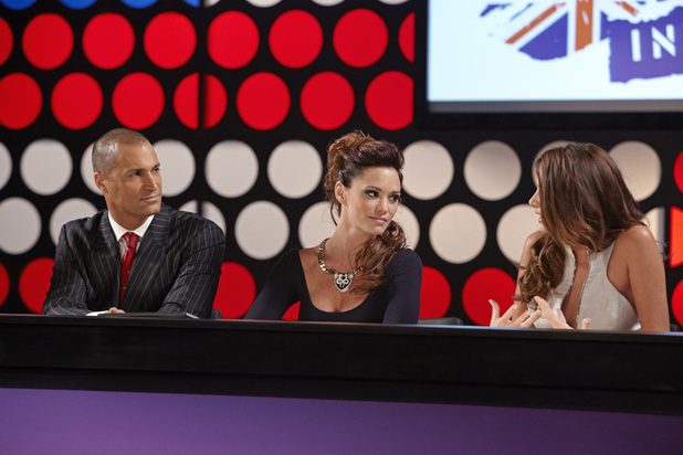 Nigel Barker, Jessica Sutta and Nadine Coyle 