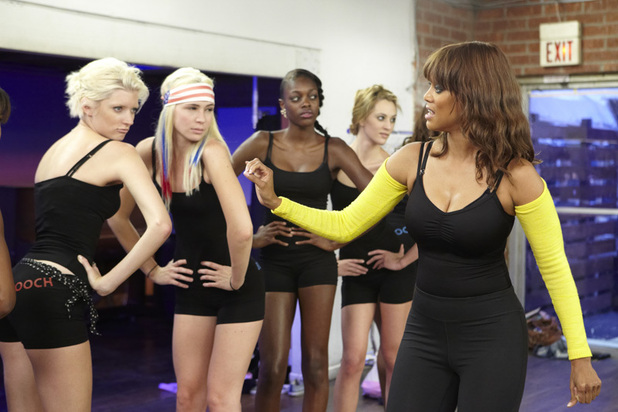 ANTM British Invasion Episode 6: Sophie, Laura, Alisha, Kyle and Tyra Banks