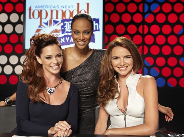 ANTM British Invasion Episode 6: Jessica Sutta, Tyra Banks and Nadine Coyle
