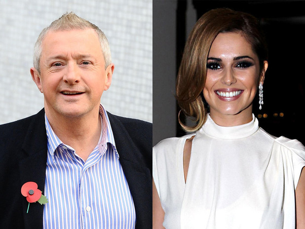 Louis Walsh and Cheryl Cole