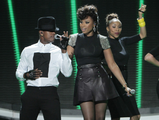 American Idol: Jennifer Hudson and Ne-yo 